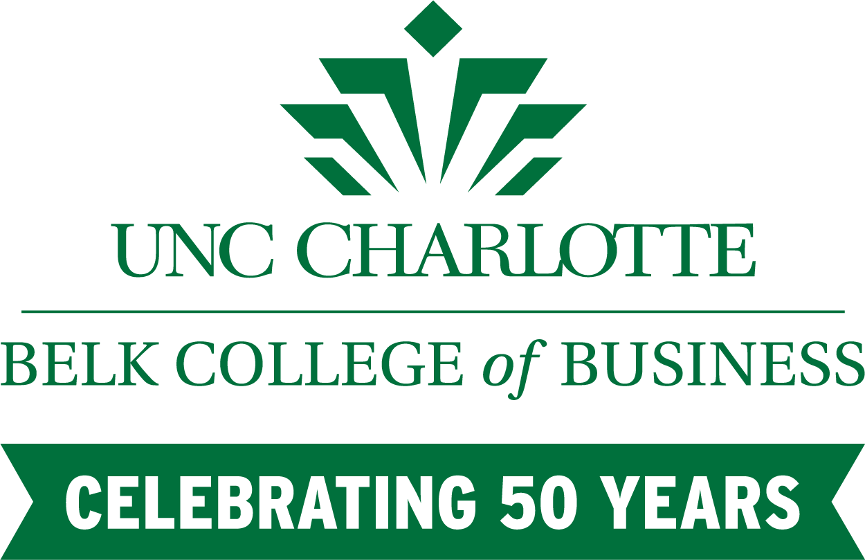 Belk College 50th Anniversary Logo