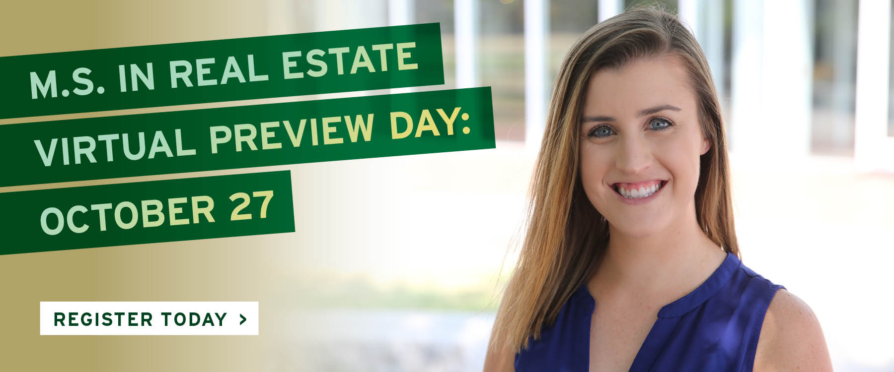 M.S. in Real Estate Virtual Preview Day
